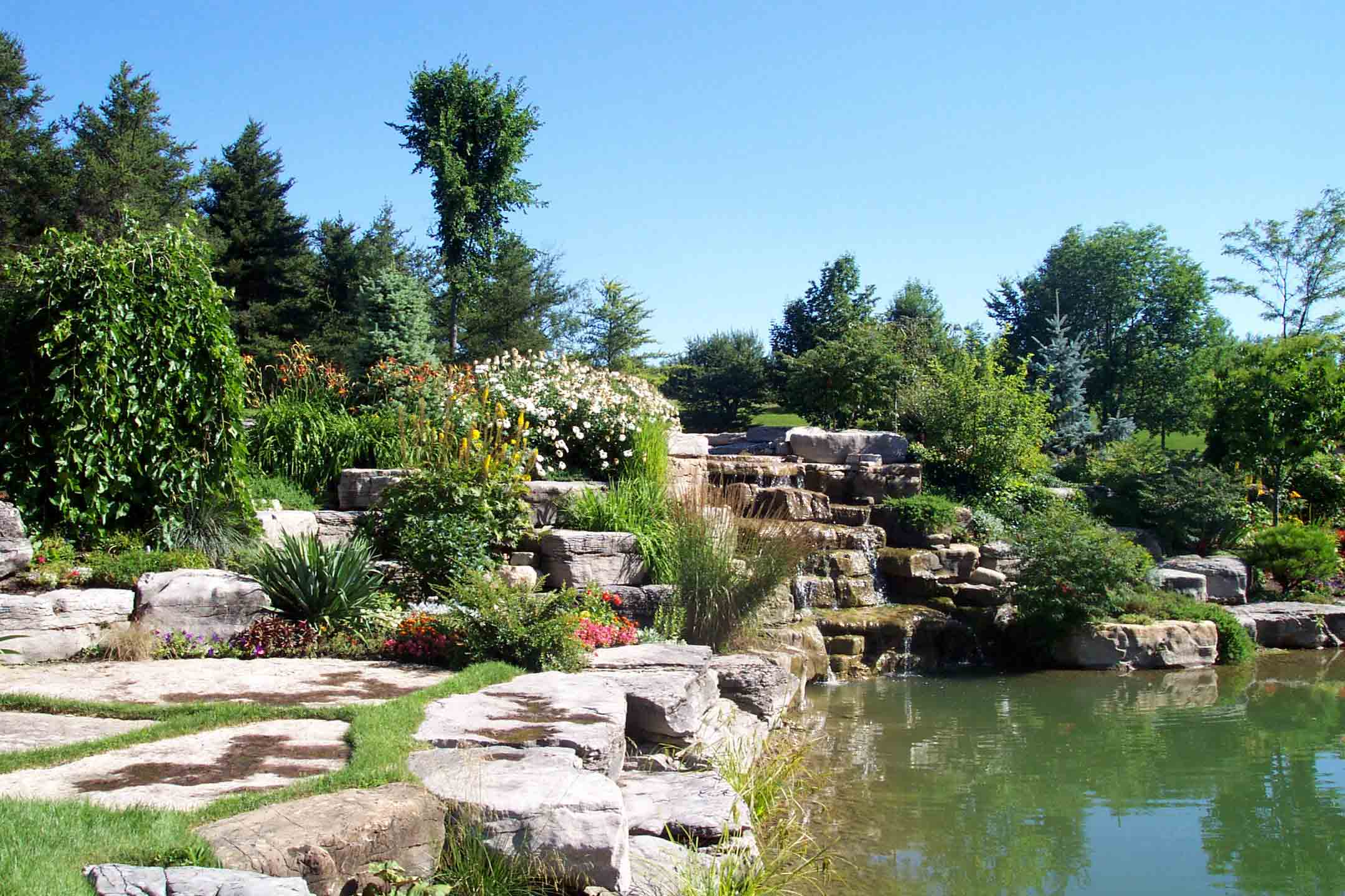 garden with led designs solar for water wooden features edinburgh fountain barrel powered feature